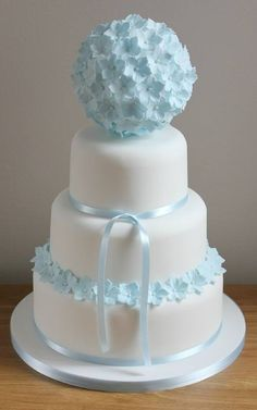 Kissing ball cake