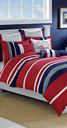 Nautica Brant Comforter Set #kids #rooms