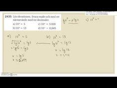 Matematik 5000 Ma 2c   Kapitel 2   Exponentialekvationer och logaritmer ...