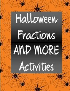 "Need a few math halloween activities?  How about a Halloween Fractions Treasure Hunt, a Halloween Logic Puzzle, and an explanation of how to play ""Mystery Box,"" one of my students' all-time favorite activities?  All three of these halloween activities are sure to make your math class spook-tacular! :)Please note this is found within a HALLOWEEN BUNDLE located here:  Halloween BUNDLE of Fun!More from Grade 5 Greatness:More Halloween goodies found in my Halloween Category here:  Halloween…"