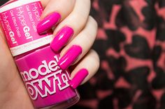 Models Own Hypergel Cerise Shine | Beauty Aesthetic: UK and Scottish Makeup and Beauty Blog #review #bbloggers #nails #pink #nailpolish