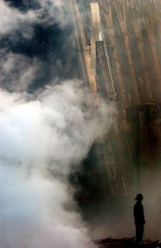 9/11/2001 9/11 Rescue workers following the collapse of #WorldTradeCenter Twin Towers (Two of the 4 Targets of #911) Remembering and Honoring the Heroes of 9-11-2001 9-11 #NeverForget #911 #Remembering911 9/11/2001