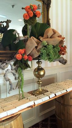 Rustic seating card table