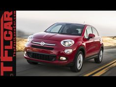 2016 Fiat 500X First Drive Review: An Italian AWD Jeep Renegade? - YouTube