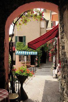 Street view in Gandria, Switzerland | by gianluca zanaboni | via visitheworld