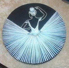 Ballerina string art diy