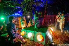 Crazy art and games at @intothewoodsfestival #Intothewoodsfestival #Fun #festivalphotography #Festival #art #games