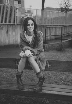 Kaya Scodelario - Effy Stonem (Skins) dirt bag teenager grunge style <3