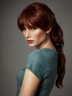Red hair + lovely cheekbones