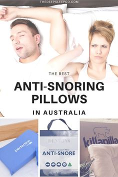 Does snoring affect your sleep? In this article we find and compare the best anti-snoring pillows available in Australia. Take a look! #snoring #antisnoringpillow #pillow #sleep Sleep Posture, Bad Posture, Signs Of Sleep Apnea, Sleep Medicine, Natural Sleep Remedies, Support Pillows, Sleep Better, Head And Neck, Natural Solutions