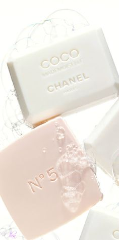 Chanel Soap Love the simple elegant look of these soaps. Want to put these o - Chanel Paris - Ideas of Chanel Paris - Chanel Soap Love the simple elegant look of these soaps. Want to put these on my bathroom counter! Coco Chanel Parfum, Mademoiselle Coco Chanel, Parfum Rose, Savon Soap, Lotion, Lipgloss, Chanel Paris, Chanel Fashion, Chanel Beauty