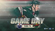 Game Day!! Let's go Wild! #nhl #hockey #gameday #ccm #mnwild  https://www.nhl.com/wild/news/warmup-oilers-040218/c-297563384