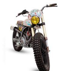 Honda CLR125 Scrambler - Dream Wheels Heritage