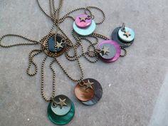 """Necklace """"La ptit' étoile perdue"""" by Jadheo on Etsy"""
