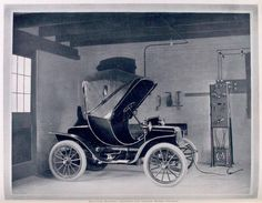 100-year-old electric car