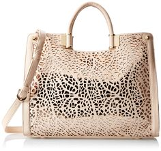Ivanka Trump Rose Shopper mad about this bag!!! www.pampermeshoes.com
