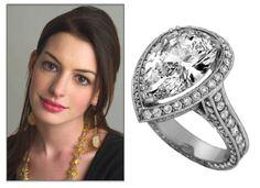 Beautiful Celebrity Engagement Ring Inspiration by... www.myfauxdiamond.com