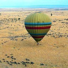 Masai Mara balloon safari