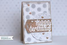 Stampin' Up! - Geburtstagskarte ❤ Stempelwiese