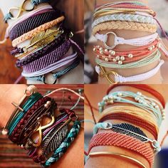 My new obsession. Pura Vida bracelets. So cute, comfortable and gives back :)