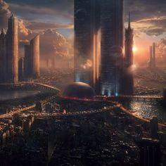 22nd century city #writingprompts