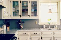 Between Blue and Yellow: Kitchen tour
