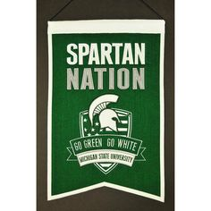 Michigan State Spartans NCAA Nations Banner (15x20)