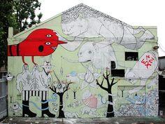 Colorful Art Writers: 10 of the Best Graffiti Artists New York Graffiti, Best Graffiti, Sad Paintings, Grafitti Street, Street Installation, Street Artists, Graffiti Artists, Chalk Art, Urban Art