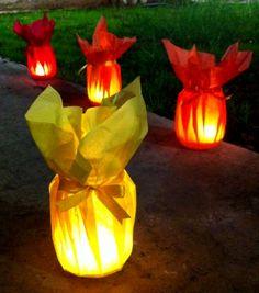 home made lantern