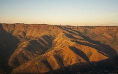 Rolling hills in Lilani, Kwazulu -Natal