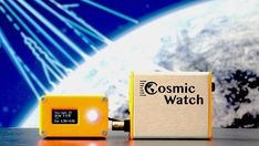 Handheld muon detector catches ghostly cosmic ray particles