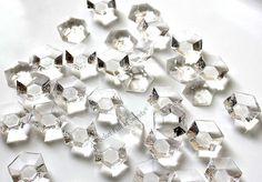 Clear Edible Diamonds Wedding Cake Topper Cake Decorations