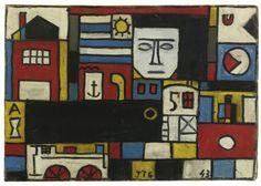 torres-garcía, joaquín construc ||| abstract ||| sotheby's n09152lot7c6nkenoaquín Torres-García  (1874-1949)  CONSTRUCTIVO EN CINCO COLORES