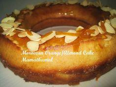 Moroccan Cuisine Marocaine: مسكوتة بللّيمونْ وْ اللّوزْ / كيكة /Meskouta or Maskouta or Keeka/ Moroccan Orange and Almond Cake (Butterless Cake) / Maskouta ou Meskouta ou Kika, Gâteau Marocain à lOrange et Amandes Sans Beurre!
