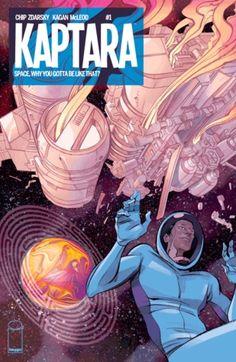 Kaptara #1 by Chip Zdarsky, Kagan McLeod #graphicnovel #spaceopera