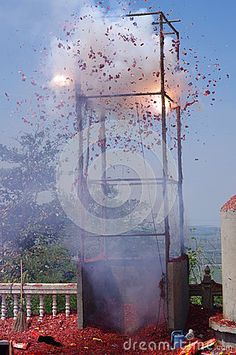 Photo about Fire crackers during Chinese new year celebrations in Thailand. Image of thailand, crackers, asia - 39262009 Fire Crackers, Festivals Around The World, New Year Celebration, Chinese New Year, Singapore, Celebrations, Thailand, Around The Worlds, Image