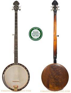 Bacon Belmont Long Neck Banjo
