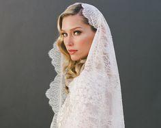 vintage mantilla veil - Google Search