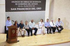Apoyará gobierno con sistema de agua potable y drenaje a San Francisco del Oro; Anuncia Corral inversión de 14 mdp en el municipio | El Puntero