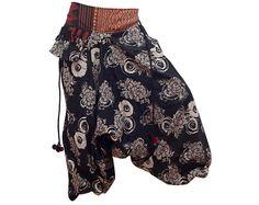 Harem Pants / Baggy Pants / Aladdin Pants / Yoga by AsianCraftShop, $21.00
