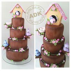 Bird cake - Bolo Passáros