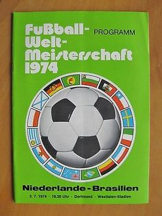 1974 #world cup brazil v netherlands holland *exc condition #football #programme*,  View more on the LINK: http://www.zeppy.io/product/gb/2/371842233844/