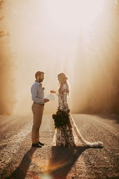 romantic intimate elopements - photo by Tricia Victoria Photography http://ruffledblog.com/elopement-inspiration-with-a-show-stopping-boho-lace-gown
