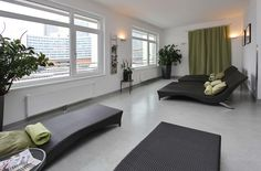 Wellnessbereich / Spa Das Hotel, Spa, Lounge, Couch, Furniture, Home Decor, Chair, Airport Lounge, Drawing Rooms