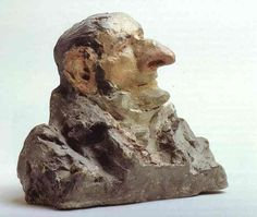 ... Apollinaire d Argout, skulptur von Honoré Daumier (1808-1879, France
