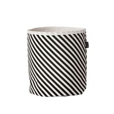A very cute little striped basket by @fermliving - I'm sure I could find a use for this! #storage #stripes #monochrome #blackandwhite #fermliving