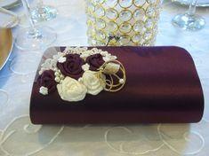 Wedding  Bridal Clutch - Bridesmaid Clutch - Bridesmaid Gift - Bordeaux, Eggplant, Cabernet, Maroon - Autumn Wedding - Wine Country Wedding on Etsy, $80.00