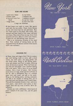 New York and North Carolina