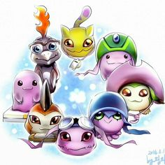 In training Digimon with memorabilia from their digidestined partner Cute Creatures, Fantasy Creatures, Digimon Wallpaper, Gatomon, Digimon Tamers, Digimon Frontier, Digimon Digital Monsters, The Ancient Magus, Digimon Adventure Tri