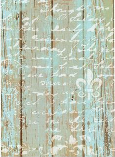 Rice Paper for Decoupage Decopatch Scrapbook Craft Sheet Fence with Decoration